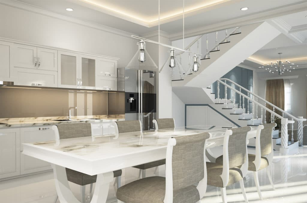 TMDC Group-Construction and Renovation - Photo of a kitchen and dining room